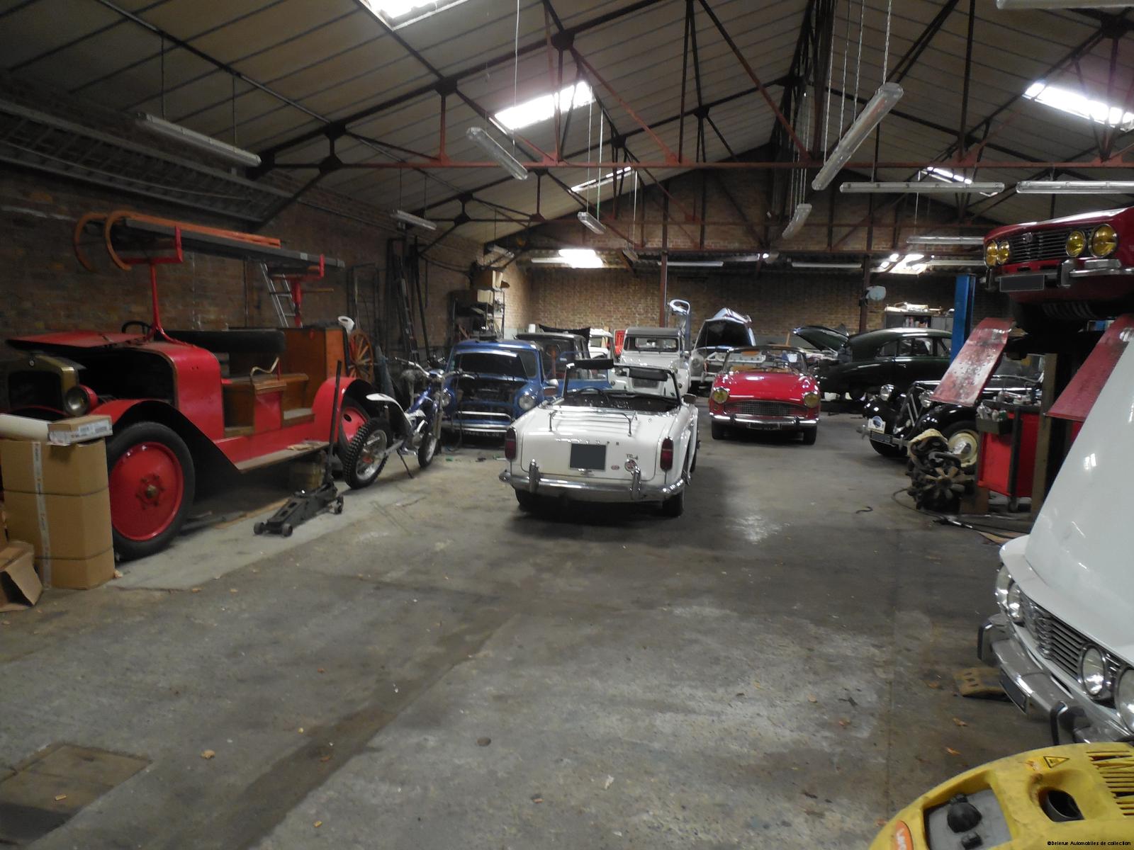 Qui sommes nous delerue automobiles de collection for Garage jaguar lille
